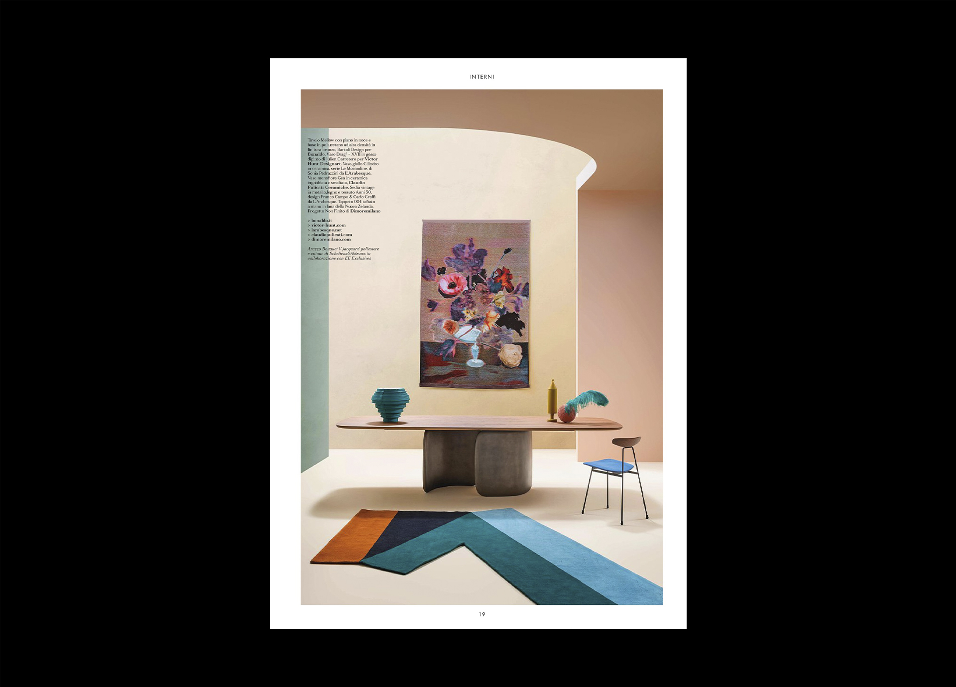 LIVING ITALY DESIGN ISSUE