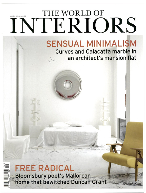 THE WORLD OF INTERIORS APRIL 2020