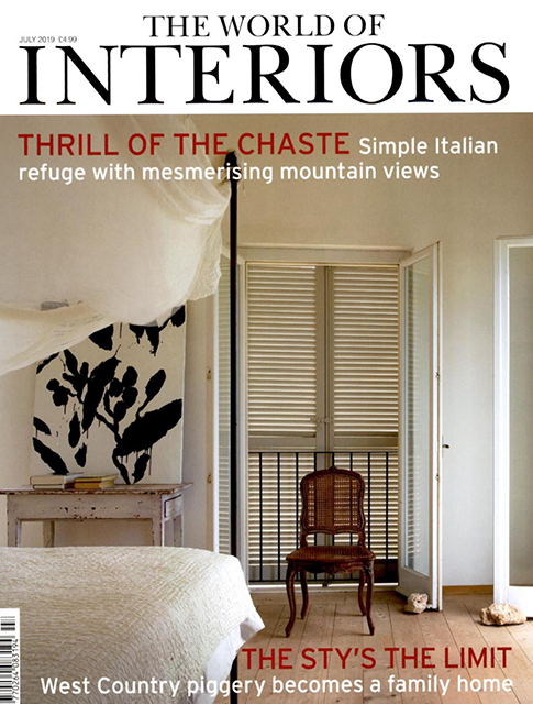 THE WORLD OF INTERIORS JULY 2019